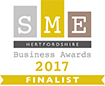 SME Hertfordshire Business Awards 2017 Finalist