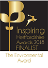 Inspiring Hertfordshire Awards 2016 Finalist The Environmental Award